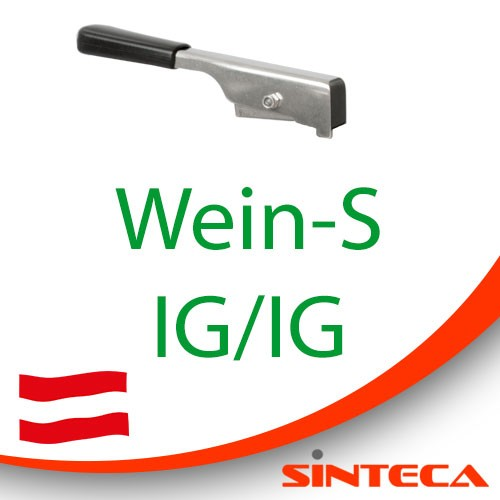 Scheibenventil Wein-S IG /Wein-S IG mit Edelstahl-Handhebel