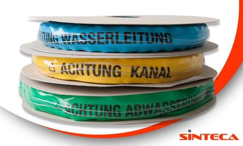 Ortungsband mit Stahldrahteinlage